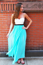 longer lengths dress turquoise strapless maxi dress with ustrendy