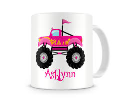 Monster Truck Girls Personalized Kids Mugs, Monster Truck ... Racing Monster Truck Funny Videos Video For Kids Car Games Truck Toddler Bed Style Eflyg Beds Max Cliff Climber Monster Truck Kids Toy Mega Tow Challenge Kids 12 Appealing For Photo Inspiration Colors To Learn With Trucks Loading A Lot Of 3d Offroad Toy Rc Remote Control Blue Best Love Color Children S Cra 229 Unknown Children Drawing At Getdrawings Unique Of