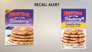 Krusteaz Pumpkin Pancakes by Recall Krusteaz Pancake Mixes Recalled Due To E Coli Concerns