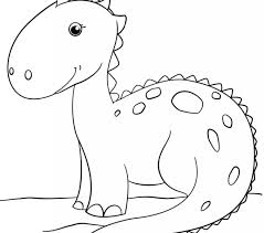 Dino Coloring Pages Dinosaurs Free Printable