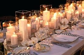 Candle Table Decorations Wedding Centerpieces Decorating Ideas Decoration Candles Unity