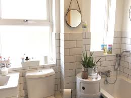 Grey Tiles With Grey Grout by White Bathroom With White Metro Tiles And Grey Grout Pinkscharming