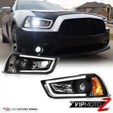headlights for 2013 dodge charger ebay