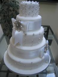 Wedding Cakes With Bling And Flowers Beautiful Cheap
