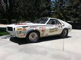 100 Cars Trucks Ebay 1968 AMC AMX Drag Racer Put Up For Sale On EBAy Could Be Yours For