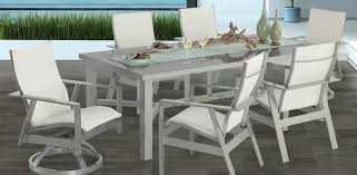 Patio Furniture Slings Fabric by Trento Collection Castelle Luxury Outdoor Furniture