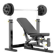 Half Rack Weight Bench