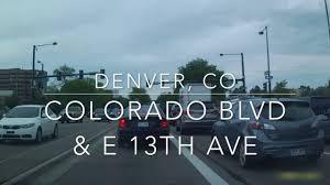 Driving in Colorado Glendale Denver Glendale Post fice to