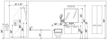 Bathroom Makeup Vanity Height by What Is The Standard Height Of A Bathroom Vanity Imposing Perfect