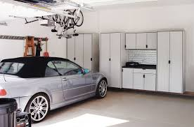 decoration nice pale white garage wall storage cabinets with doors