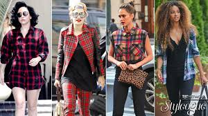 plaid shirt cool look for girls youtube
