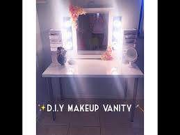 D I Y Makeup Vanity BUDGET FRIENDLY