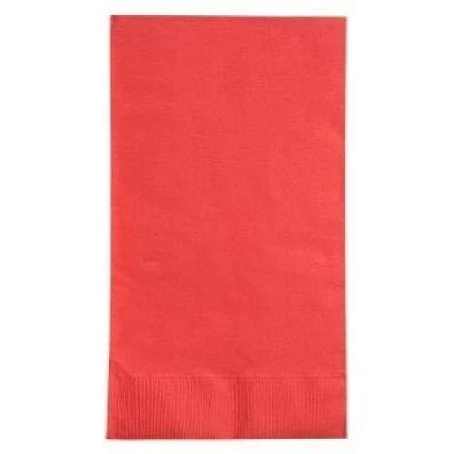 Red Guest Napkins 18 ct.