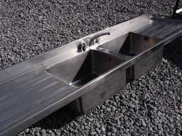Ozark River Portable Hand Sink by Ozark River Portable Sinks By Commercial Double Sink Second Hand