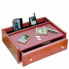 Dresser Valet Watch Box by Mens Jewelry Box Mans Wooden Cherry Dresser Valet