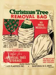 Christmas Tree Plastic Storage Bags
