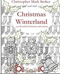 Christmas Garden Colouring Book For