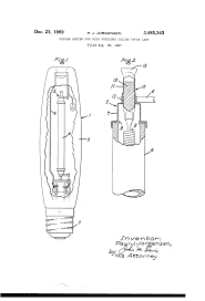 Sodium Vapor Lamp Construction by Patent Us3485343 Oxygen Getter For High Pressure Sodium Vapor