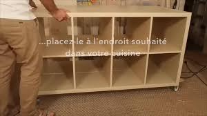 ilot cuisine a faire soi meme diy fabriquer un îlot de cuisine avec des meubles ikea