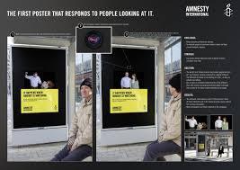 Amnesty International Ambient Advert By Jung Von Matt Eye Tracking