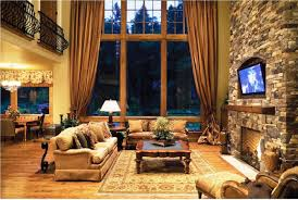 Image Of Rustic Family Room Decorating Ideas