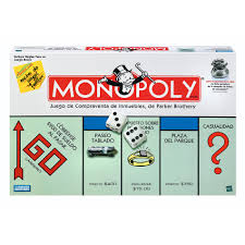 Hasbro Monopoly Game Spanish
