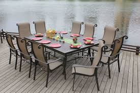 Patio Furniture Sling Replacement Houston by Patio Dining Sets