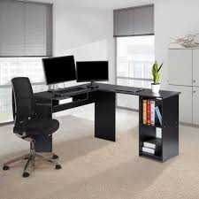 L Shaped Computer Desk Uk by Furniture Office Computer Tables For Office Black Wood Computer