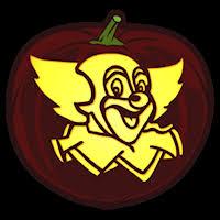 Clown Pumpkin Template by Scary Clown Pumpkin Carving Templates Patterns Patterns Kid