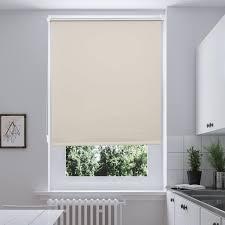 70x150cm rollo i home seitenzug klemmfix thermo verdunkelungs ohne bohren gardine vorhang beige