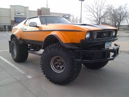 100 Ford Monster Truck Orange Mustang Derekbrooxcom