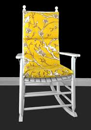 Yellow Floral Rocking Chair Cushion Dwell Studio Vintage | Etsy Rocking Chair Cushion Sets And More Clearance Pillows Levo Baby Rocker In Beech Wood With Hibiscus Flower Patio Fniture Cushions At Lowescom Chablis Rose Latex Foam Fill Reversible Surprising Pad Set For Your Home Design Ideas Interesting Glider Elegant Armchair Decor Awesome Comfortable Add Comfort Style To Favorite Amazoncom Barnett Child Seat And Indoor Cracker Barrel