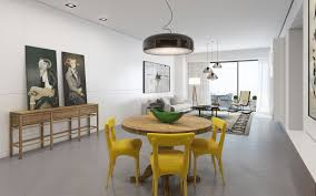 It Cant Be Too Small Otherwise Chair Legs Will Hook The Rug Edges Modern And Minimalistic Dining Rooms Prefer Bare Floors