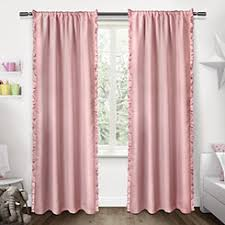 Pink Ruffle Blackout Curtains by Curtains Curtains And Drapes Kirklands