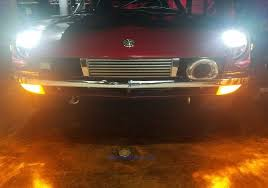 headlight bulb conversion to direct fit led h4 lights