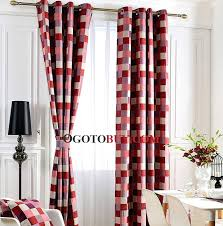White Cotton Kitchen Curtains by Livingston Plaid Red Curtains Red And White Plaid Kitchen Curtains