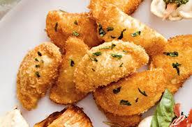 Crunchy agnolotti bites