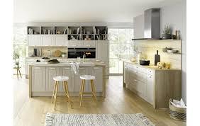 global küche 56 180 im landhausstil mit sandgrauen