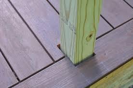Wood Decking Boards by Decks Com Installing Composite Decking