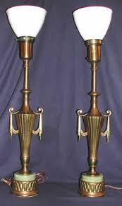 Vintage Stiffel Lamps Value by Pair Vintage Brass Stiffel Lamps Pineapple Motif Hollywood