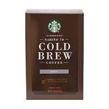 Starbucks Narino 70 Cold Brew Coffee Pitcher Packs