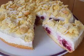 flockentorte kirsch joghurt torte mit kirschen kuchen
