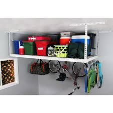 4 x 8 heavy duty storage rack overhead garage storage