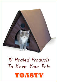 Kh Thermo Kitty Heated Cat Bed by 10 Heated Products To Keep Your Pets Toasty This Winter Petslady Com
