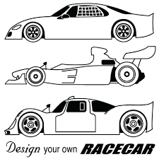 Coloring Pages Race Cars Free Large Images Online Car