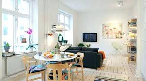 Small Space Dining Room Best Creative Table And Chairs Living Combined