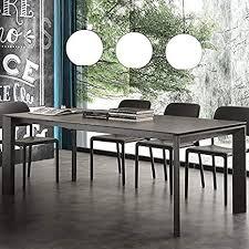 ausziehbarer tisch für 10 personen keramik anthrazit