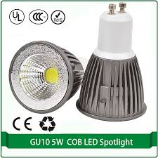gu10 5w cob led gu10 led spotlight l 4000k 3000k 6000k in led