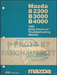 1994 Mazda Truck Body Electrical Troubleshooting Manual Original ...