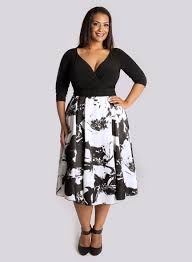 tail dress for plus size